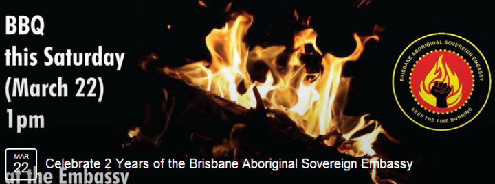 Celebrate 2 years of the Aboriginal Sovereign Embassy: RECLAIM & DECOLONISE